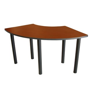 Boss Crescent Semi-Circle Training Table - 24 x 59