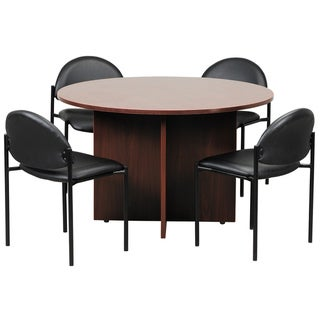 Superbe Boss 47 Inch Round Conference Table