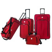 Traveler's Club Euro Value II Collection Deluxe 4-piece Travel Set