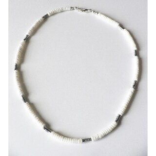 'Taos' Men's 20-Inch Shell Necklace