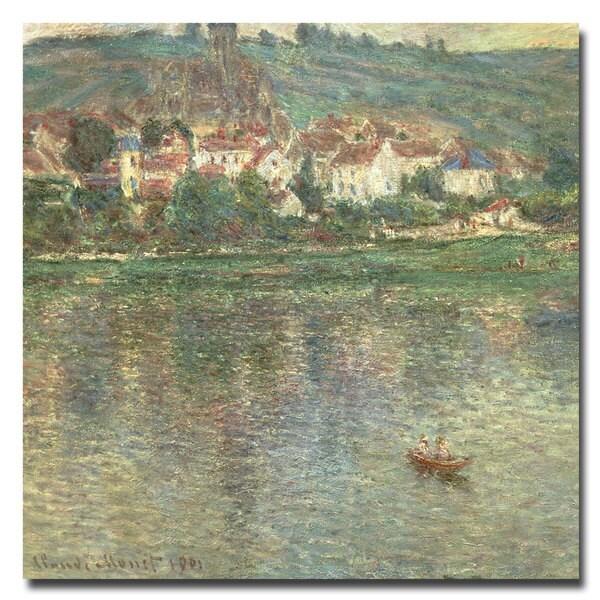 Claude Monet 'Vetheuil, 1901' Canvas Art