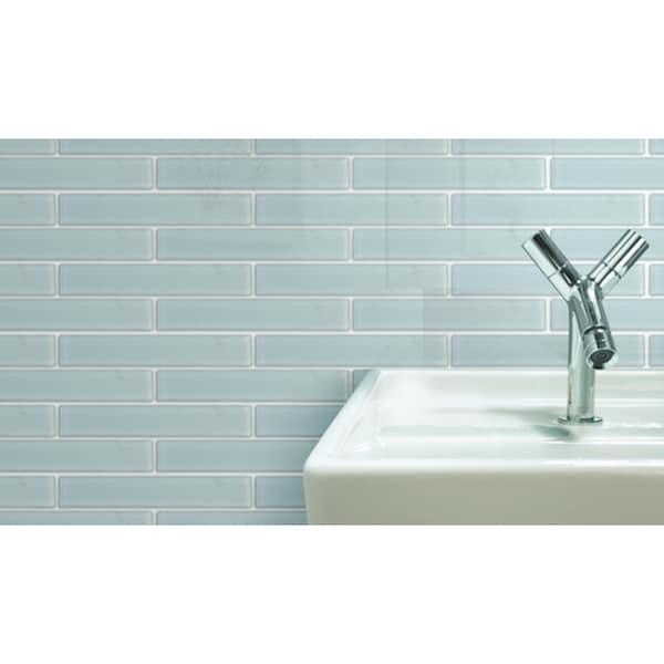 Emrytile 'Vetro' 2x12 Solid Rectangular Tiles (Case of 40)