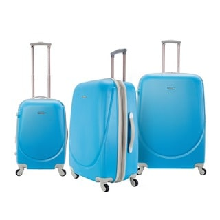 Travelers Club Barnet 3-piece Hardside Expandable Spinner Luggage Set