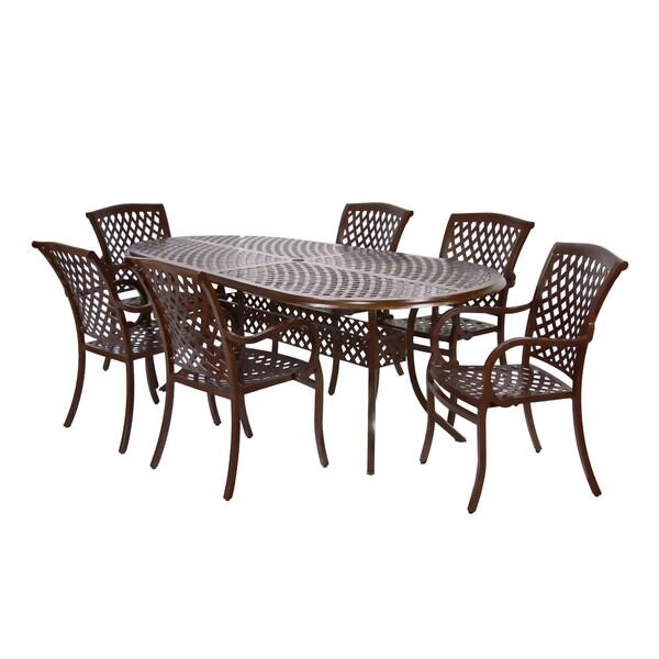 MIYU Furniture Princeton Collection 7-piece Dining Set