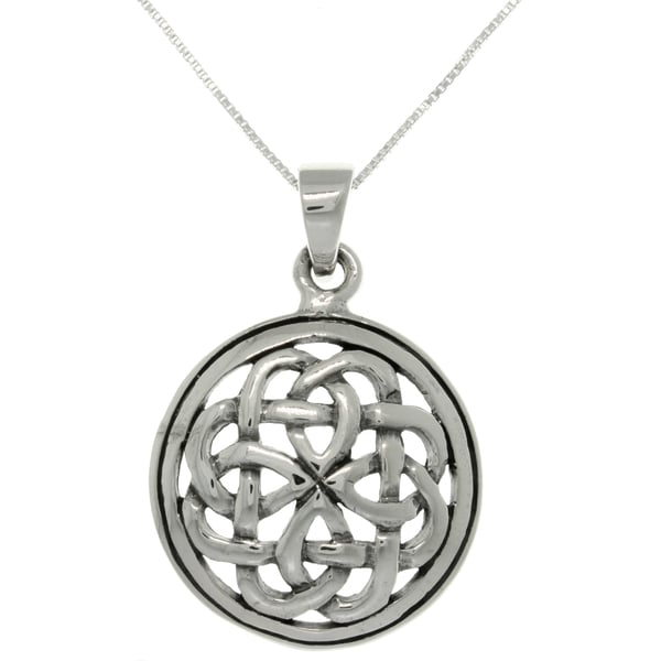 necklace item celtic ancient pendant wholesale silver knot