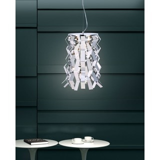 Fission 1-light Chrome Ceiling Lamp