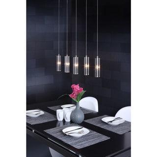Celeron 5-light Clear Ceiling Lamp