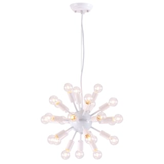 Propulsion 24-light White Ceiling Lamp