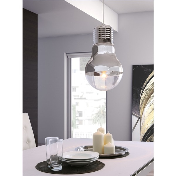 Gilese Chrome Ceiling Lamp