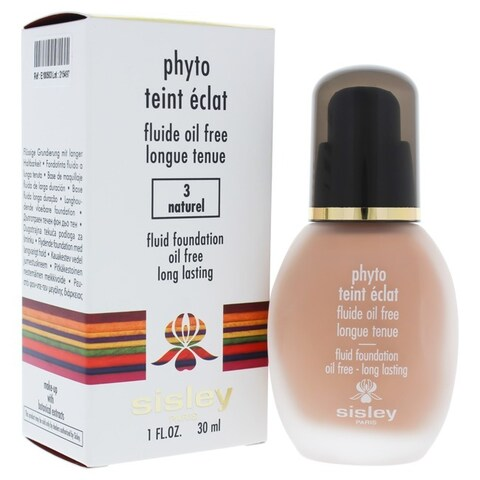 Sisley Phyto Teint Eclat Oil-Free Natural #3 Fluid Foundation