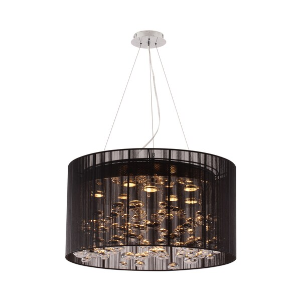 Symmetry Black Ceiling Lamp