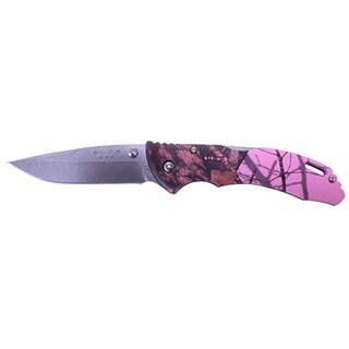 Buck Bantam BLW Mossy Oak Pink Knife