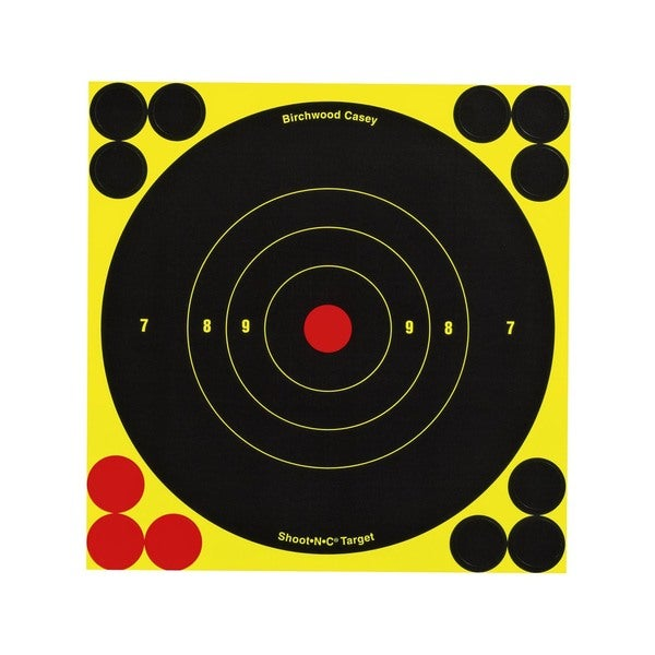 Birchwood Casey Shoot-N-C 3-inch Bull's Eye Targets (Pack of 60)