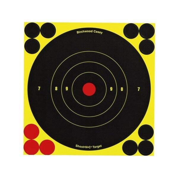 Birchwood Casey Shoot-N-C 6-inch Bull's Eye Targets (Pack of 60)