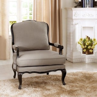 Baxton Studio Antoinette Classic Antiqued French Accent Chairs (Set of 2)