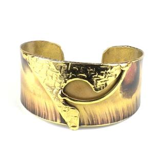 Handmade Muse Brass Cuff (South Africa)