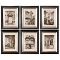 Uttermost Paris Scene Framed Art Set/6