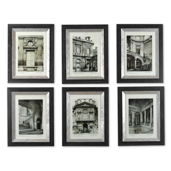 uttermost paris scene framed art set6