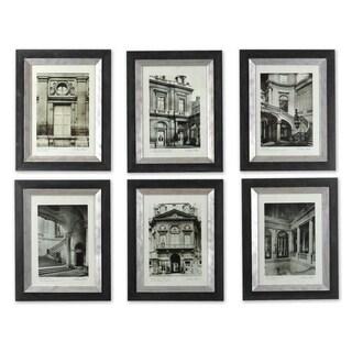 Uttermost Paris Scene Framed Art Set/6 - Green