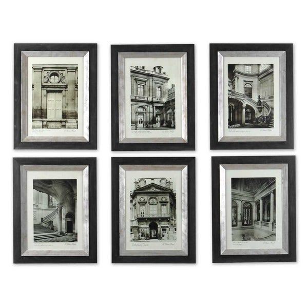 Shop Uttermost Paris Scene Framed Art Set/6 - Free Shipping Today ...