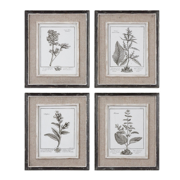 Shop Uttermost Casual Grey Study Framed Art (Set of 4) - Free ...