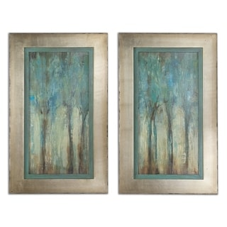 Link to Uttermost 'Whispering Wind' Framed Art (Set of 2) Similar Items in Art Prints