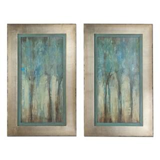 Uttermost 'Whispering Wind' Framed Art (Set of 2)