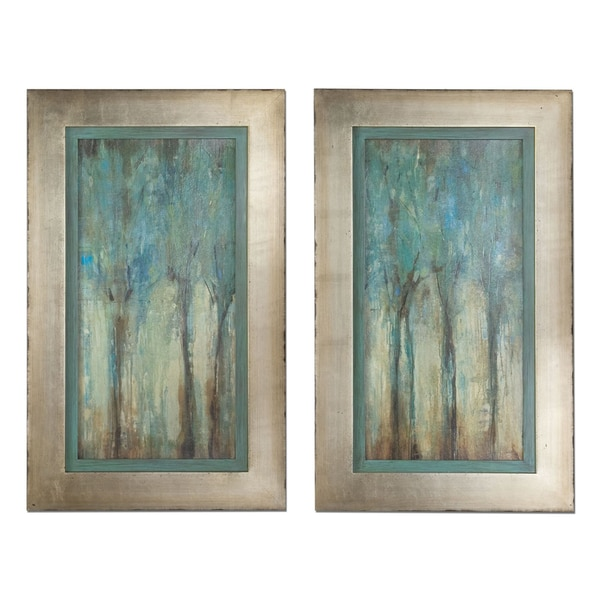 Uttermost U0027Whispering Windu0027 Framed Art (Set Of 2)   Free Shipping Today    Overstock.com   15282619