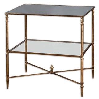Uttermost Henzler Mirrored Glass Lamp Table