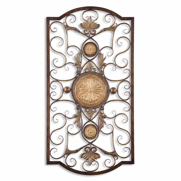 Shop Uttermost Micayla Large Metal Wall Art - Free Shipping Today ...