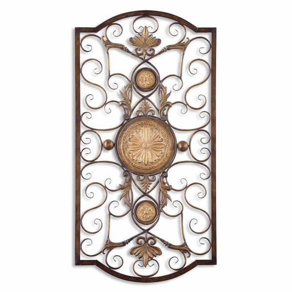 Large Metal Wall Art uttermost micayla large metal wall art - free shipping today