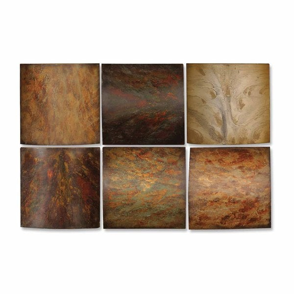 Overstock Wall Art uttermost klum collage wall art (set of 6) - free shipping today