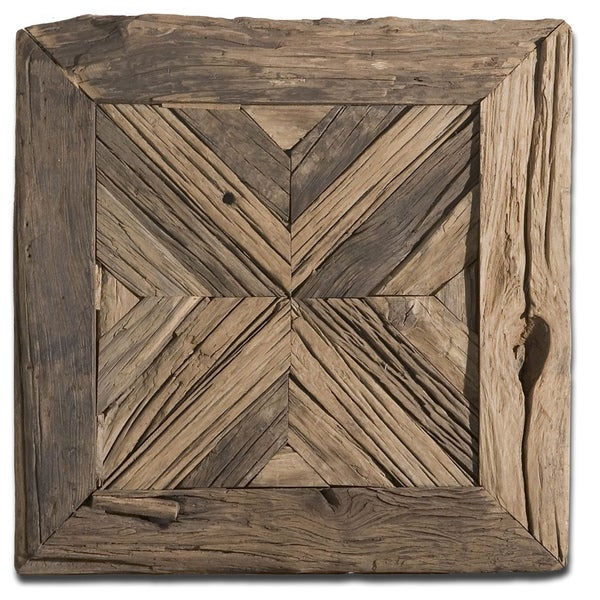 Shop Uttermost Rennick Reclaimed Wood Wall Art - Free ...