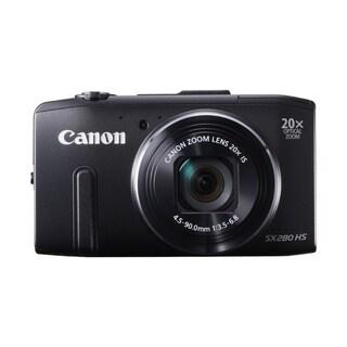 Canon PowerShot SX280 HS 12.1MP Black Digital Camera