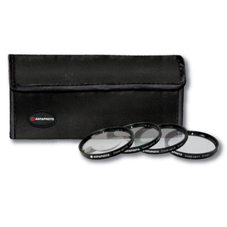 AGFA 4-piece Close-up Macro Multi-coated Filter Kit