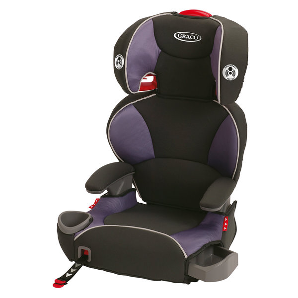 Graco Affix Grapeade Highback Booster with Latch System
