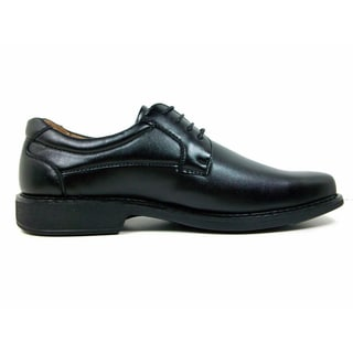 Ferro Aldo Men's Leatherette Square Toe Oxford Dress Shoes