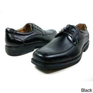 Ferro Aldo Men's Leatherette Round Toe Oxford Dress Shoes