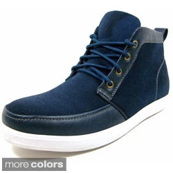 Polar Fox Men's Suedette Sneaker Style Ankle Boots