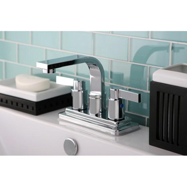 Euro Two-handle Chrome Bathroom Faucet