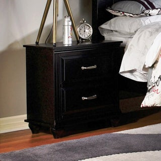 """Fully Assembled Nightstand with Two Drawers (26"""" x 16"""" x 24"""")"""