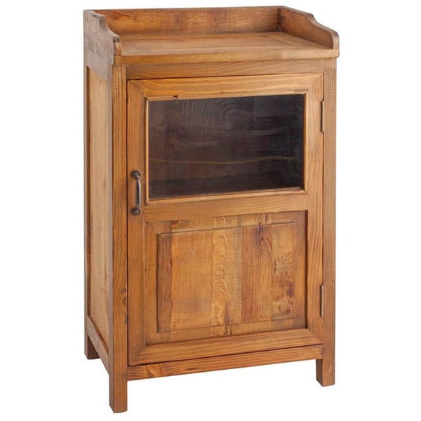 Country-Style Display Cabinet