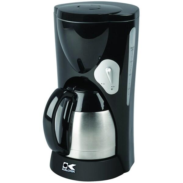 Kalorik Coffeemaker with Thermoflask Jar (Refurbished)