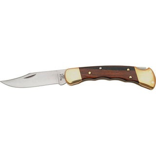 Buck Hunter Finger Groove Knife