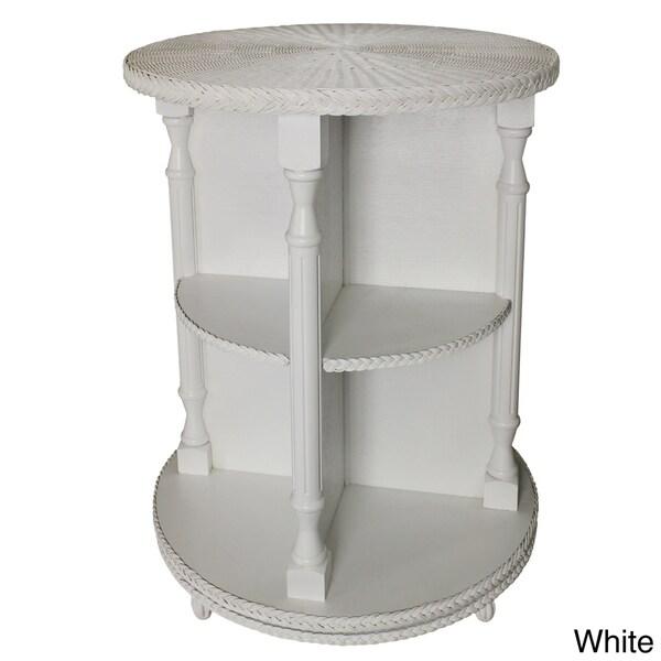 3-tier Swivel Curio Table