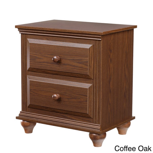 Nightstand with 2 Drawers - Free Shipping Today - Overstock.com ...
