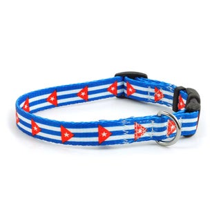 PatriaPet Cuban Flag Dog Collar