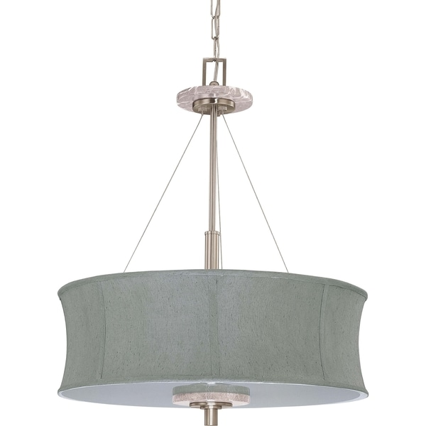 Nuvo Madison 4-light Brushed Nickel Pendant