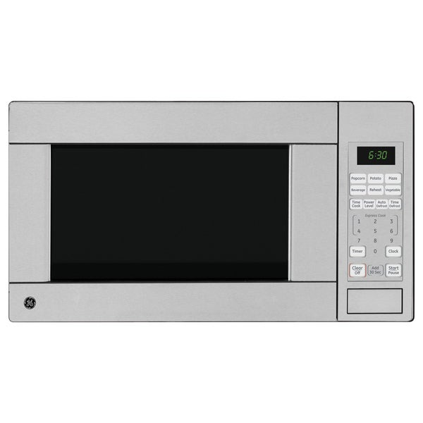 GE Stainless Steel 1.1 Cubic Foot Countertop Microwave Oven