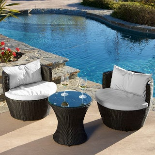 Kono 3-piece Chat Set by Christopher Knight Home